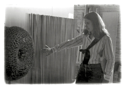 Nancy Stock-Allen, 1971, Bertoia Studio Visit
