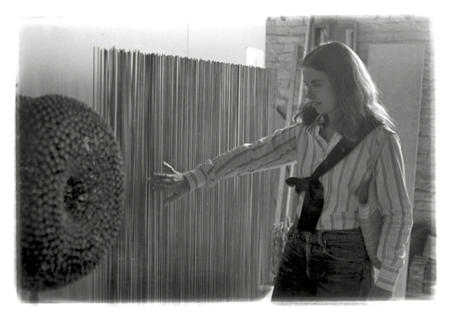 Nancy Stock-Allen, 1971, Bertoia Studio Visit