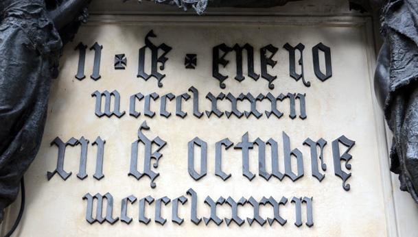Spanish Black letter in Granada