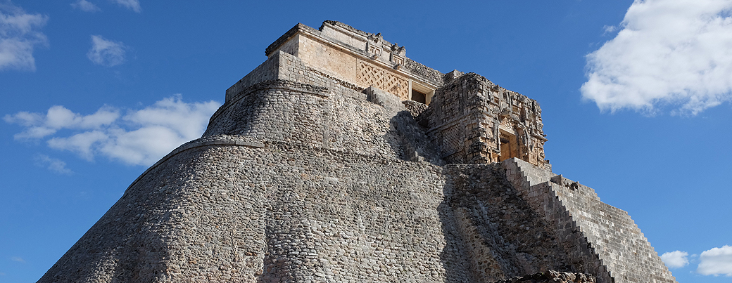 The Mayan pyramid of Izamal