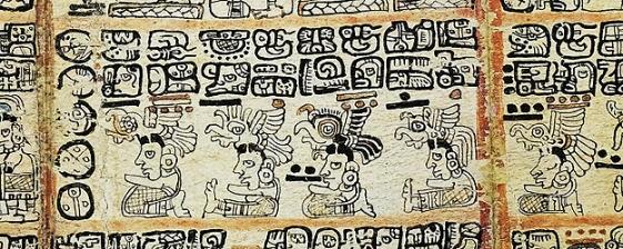 mayan codice detail