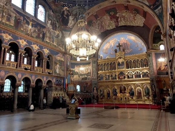 Romania orthodox church
