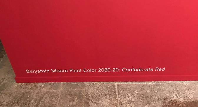 confederate red
