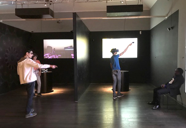 virtual reality section